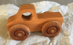 safety tested wooden toy truck