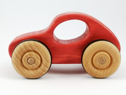 bright red toy car gift