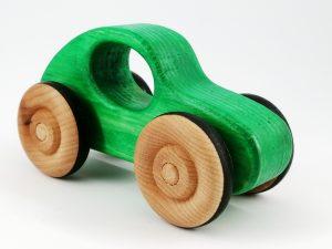 eco-friendly handmade toy car gift