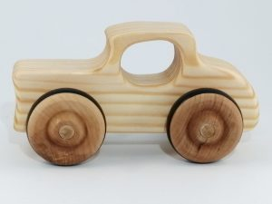 real wood 32 ford toy car
