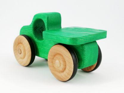 green wooden toy birthday gift