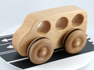 quality wooden toy bus